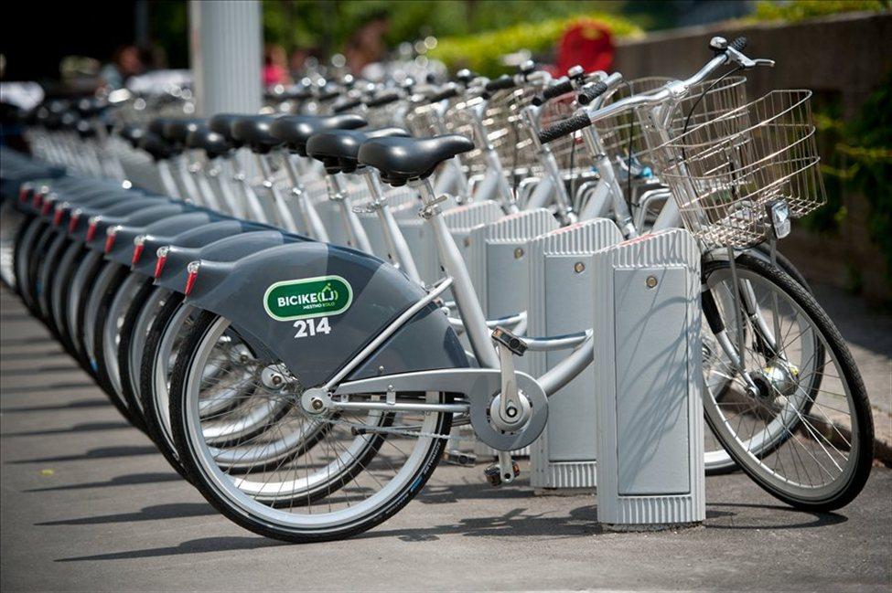 Прокат велосипедов в Любляне