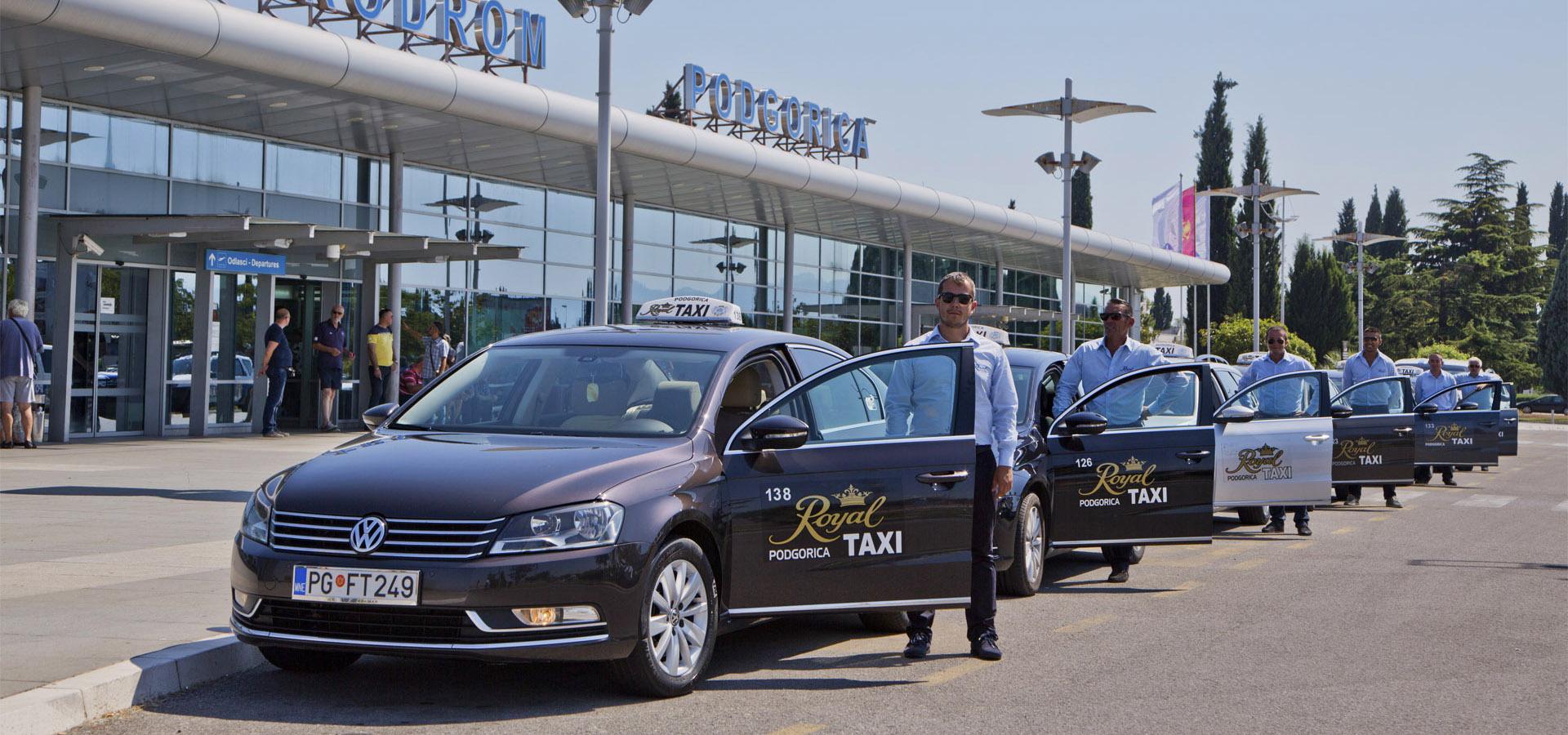 Автомобили такси с водителями
