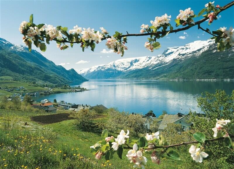 Хардангерфьорд весной