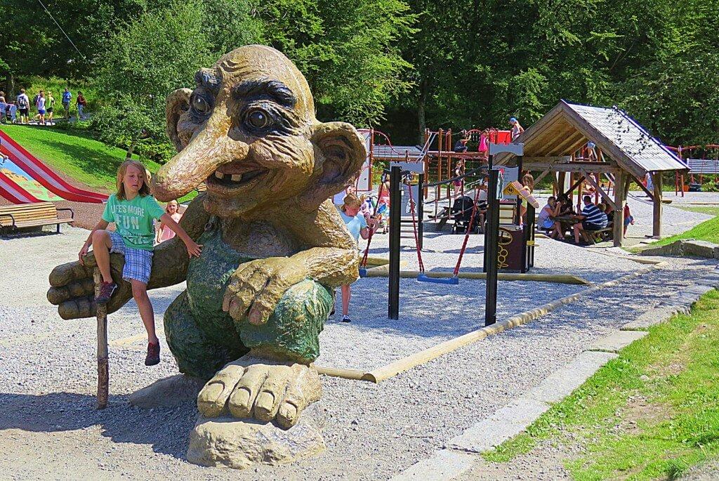 Один из множестатва троллей в Норвегии