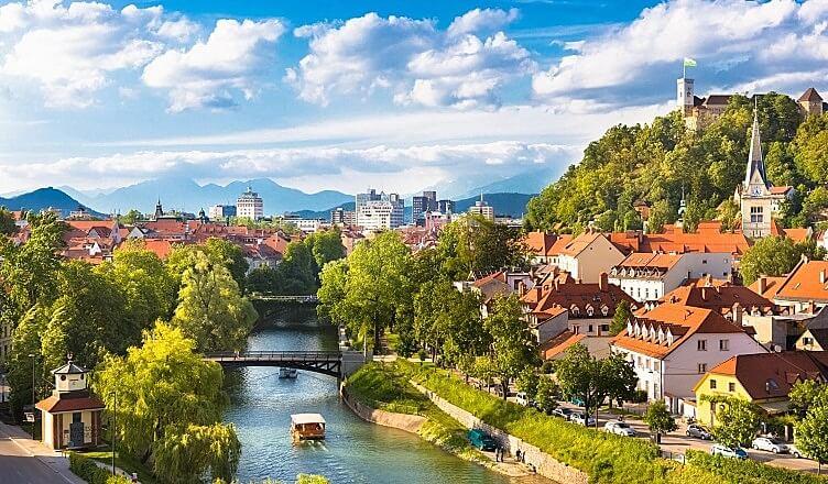 Фото города Любляна