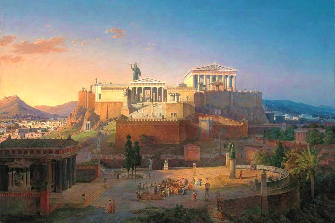 Картина - античная Греция