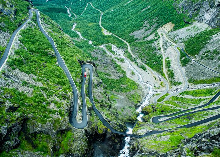 Тропа Троллей в Норвегии