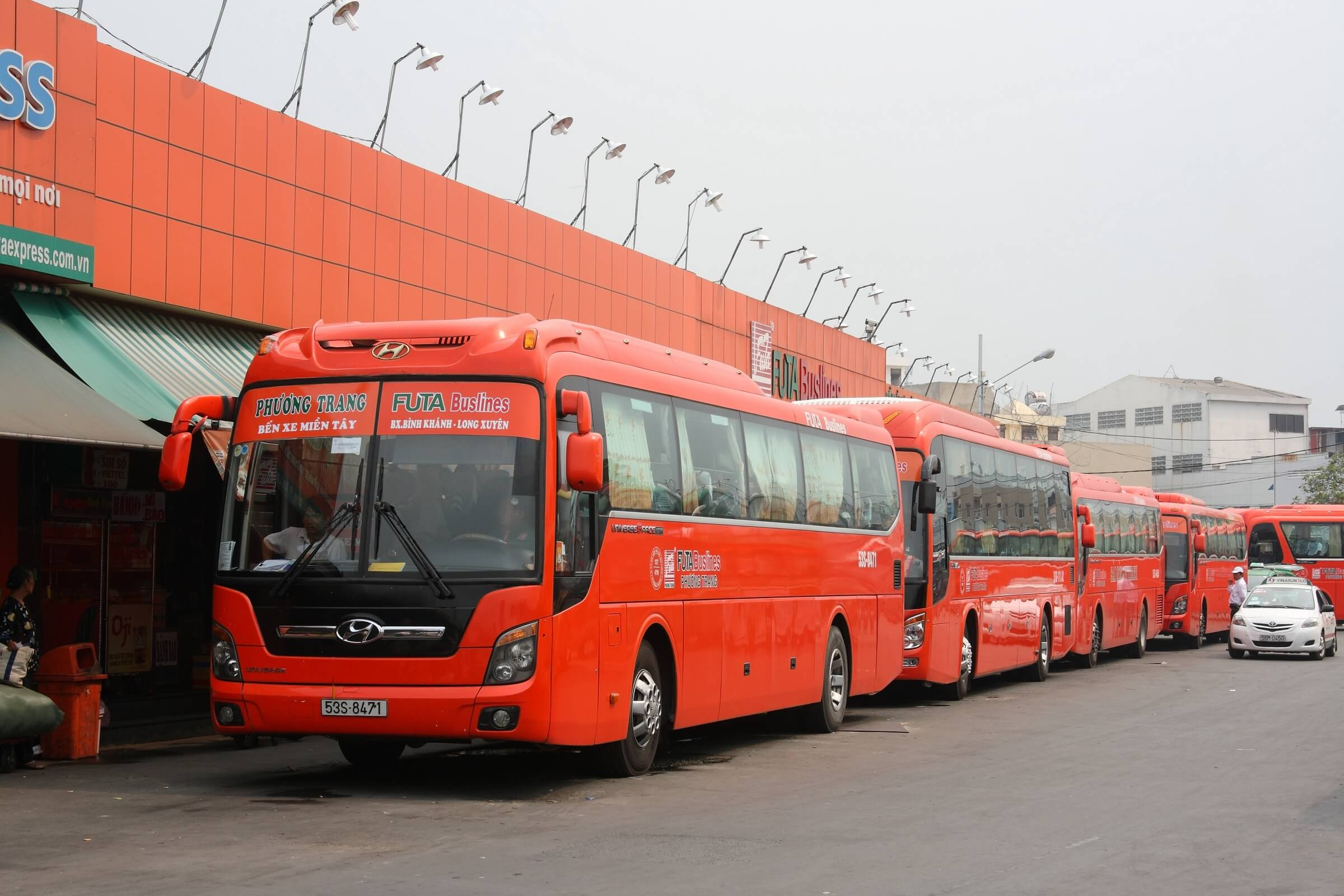 Автобус Futa Bus Lines