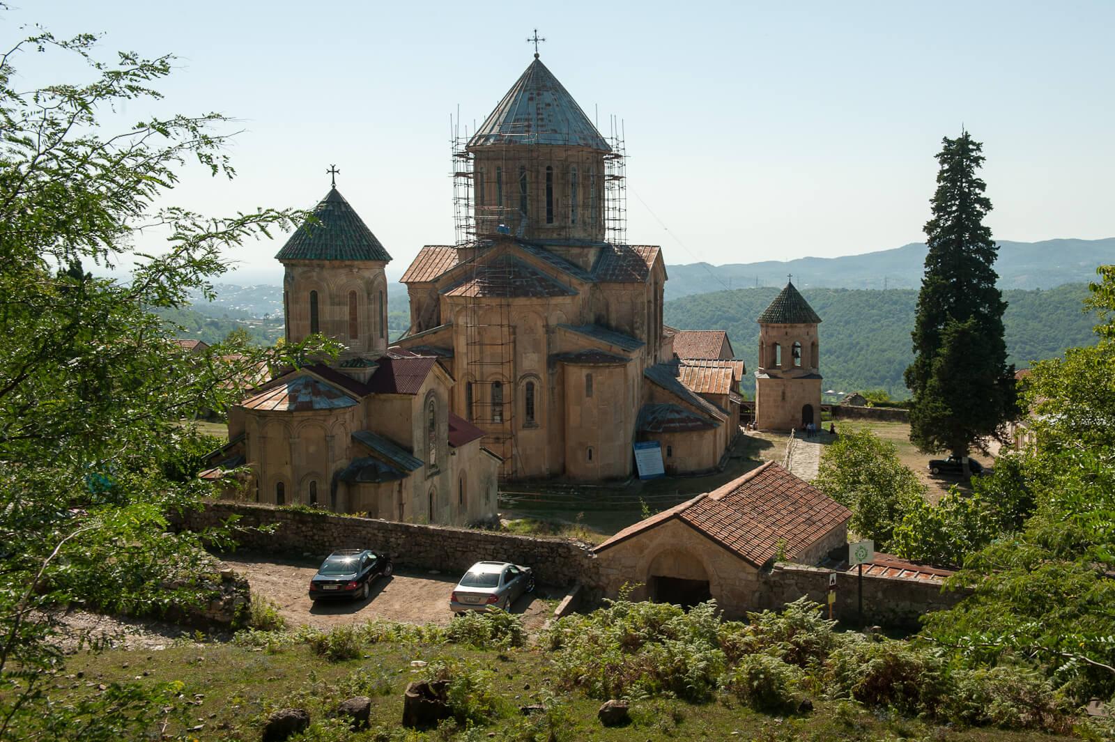 Монастырский комплекс Гелати в Грузии