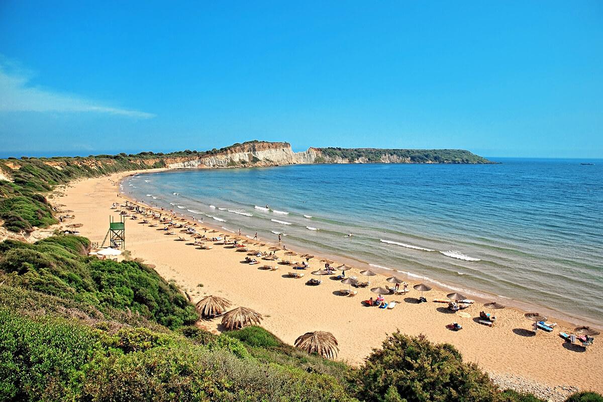 Вид на пляж Геракас