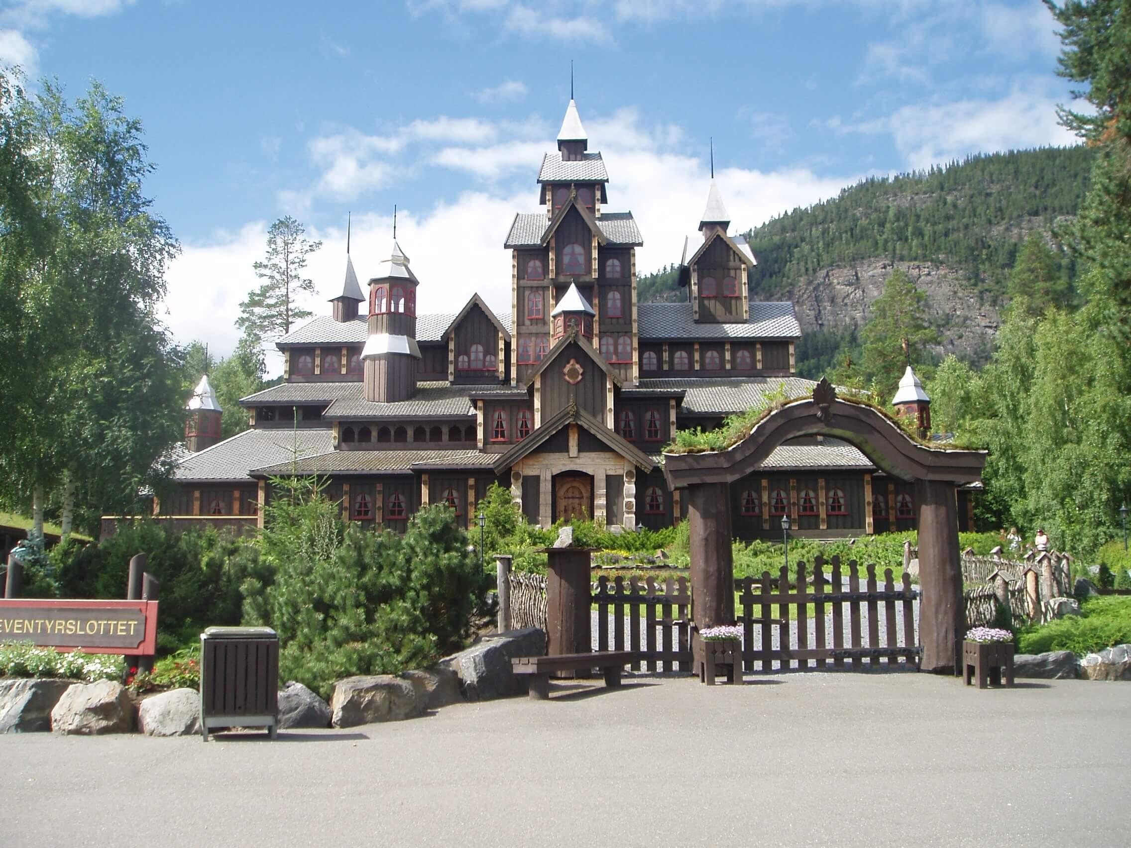 Парк атракционов Хундерфоссен