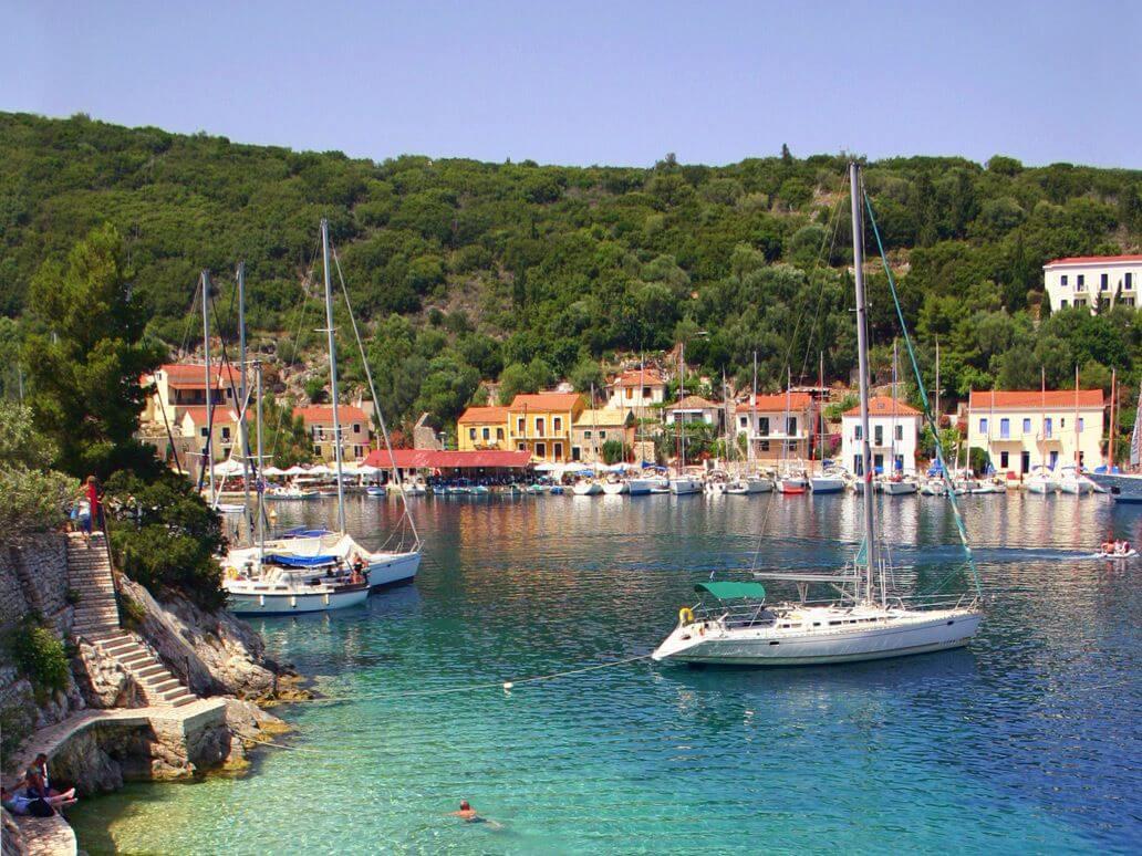 Фото: остров Итака, Греция