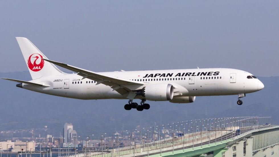 Воздушное судно авиакомпании Japan Airlines
