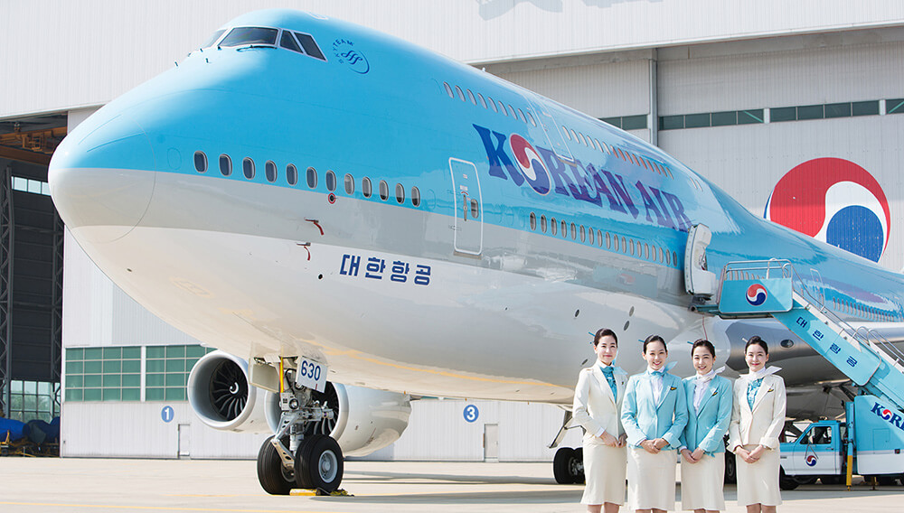 Авиалайнер Korean Air