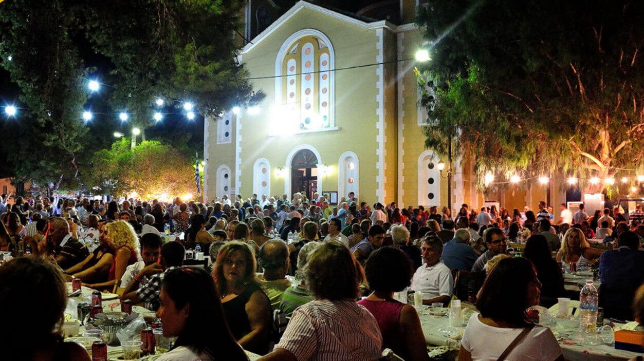 Фото: фестиваль Панигиря в Ставросе