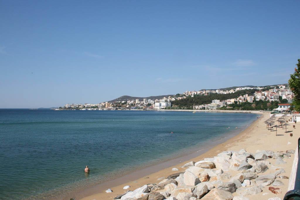 Городской пляж Кавалы