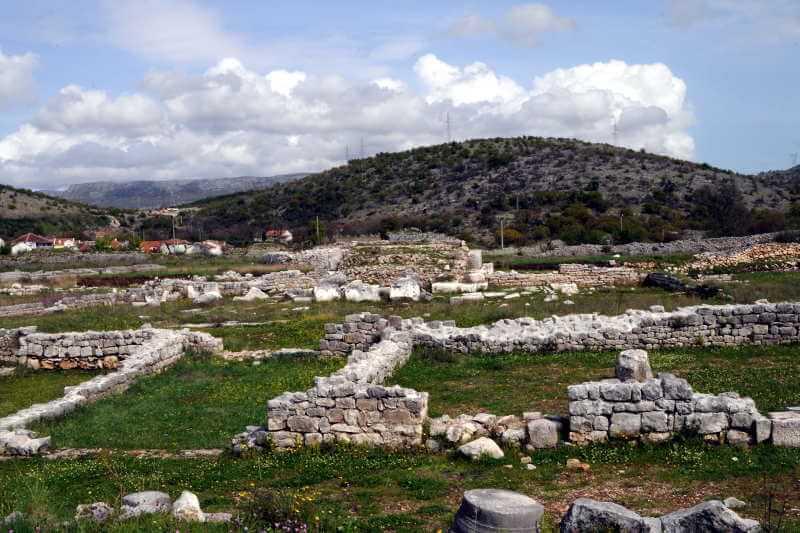 Фото: руины древнего города