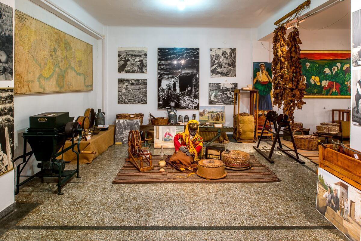Экспозиция в Музее Табака