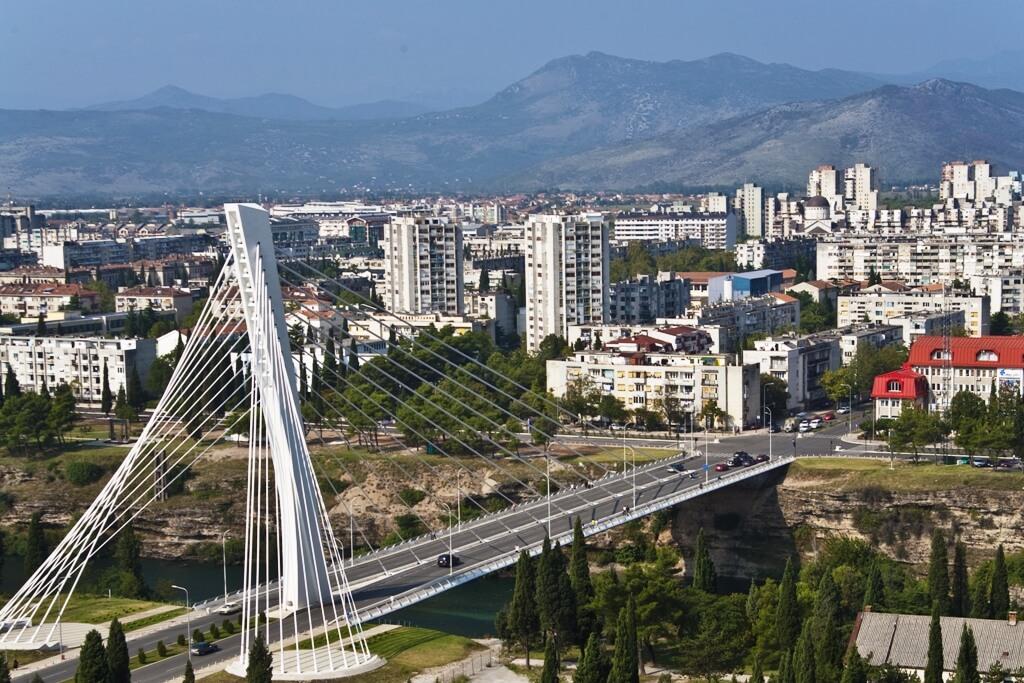 Мост Миллениум в Подгорице