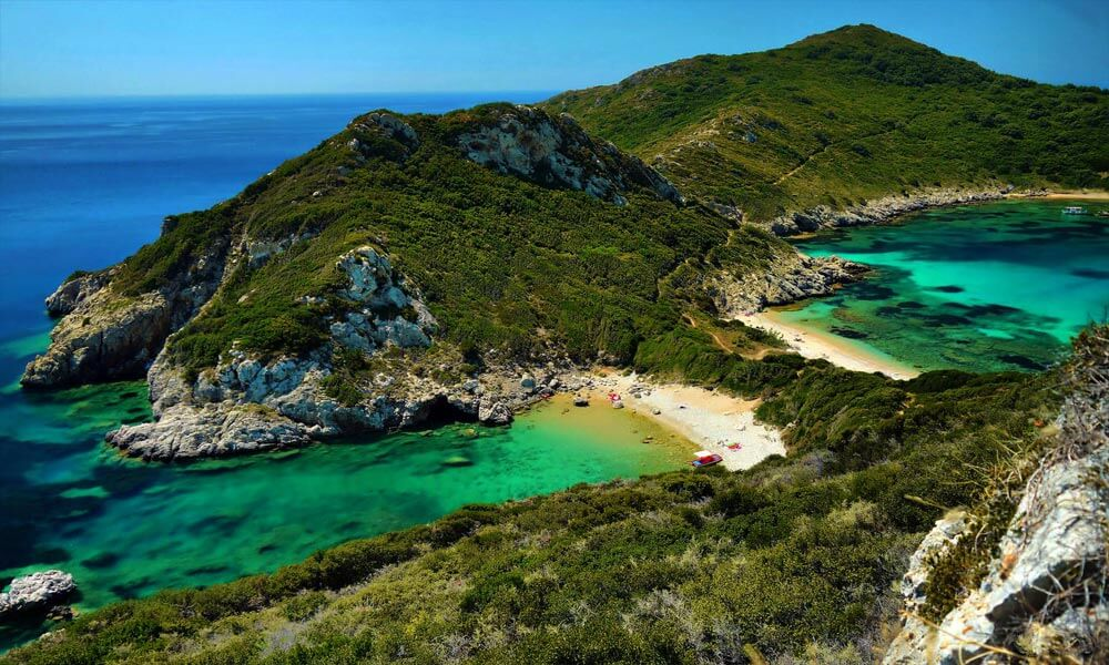 Дикие пляжи острова Корфу
