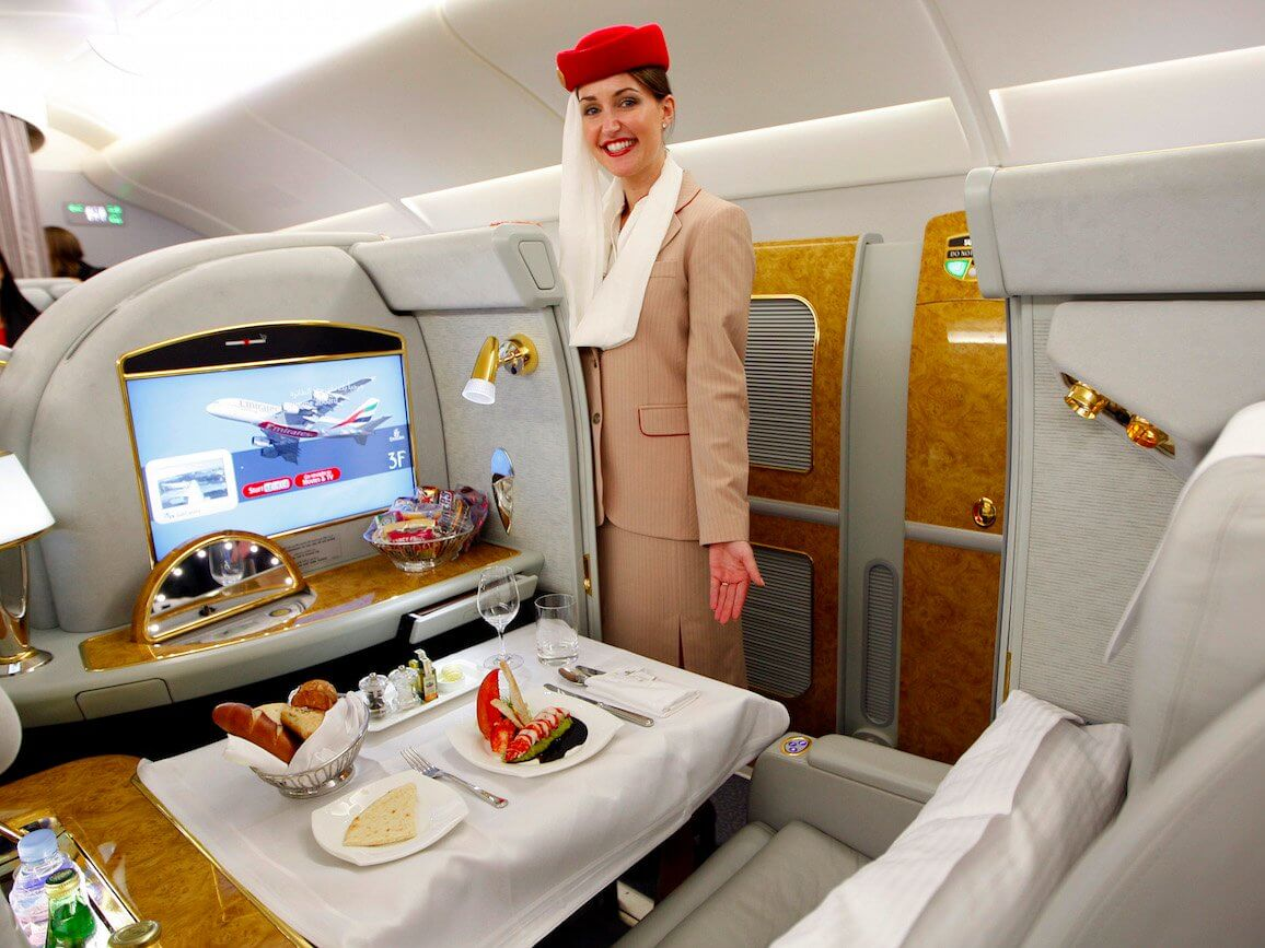 Первый класс Emirates