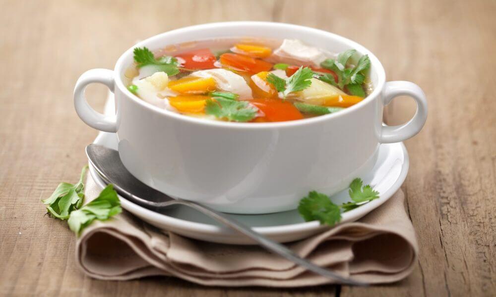 Суп говея юха