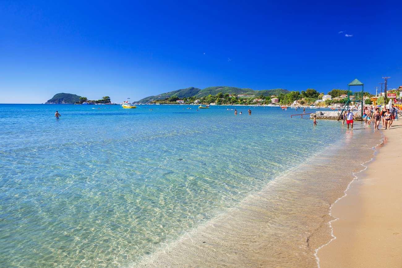 Пляжная полоса Лаганас