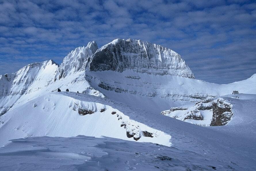 Фото: гора Олимп зимой