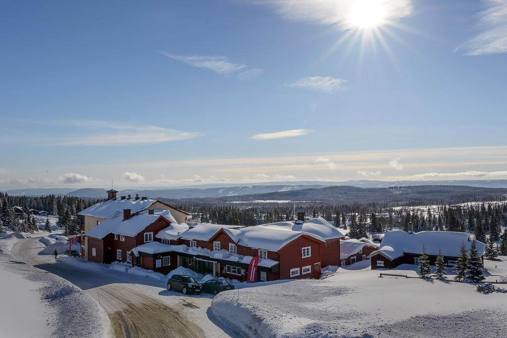 Поселок Норсетер в Норвегии