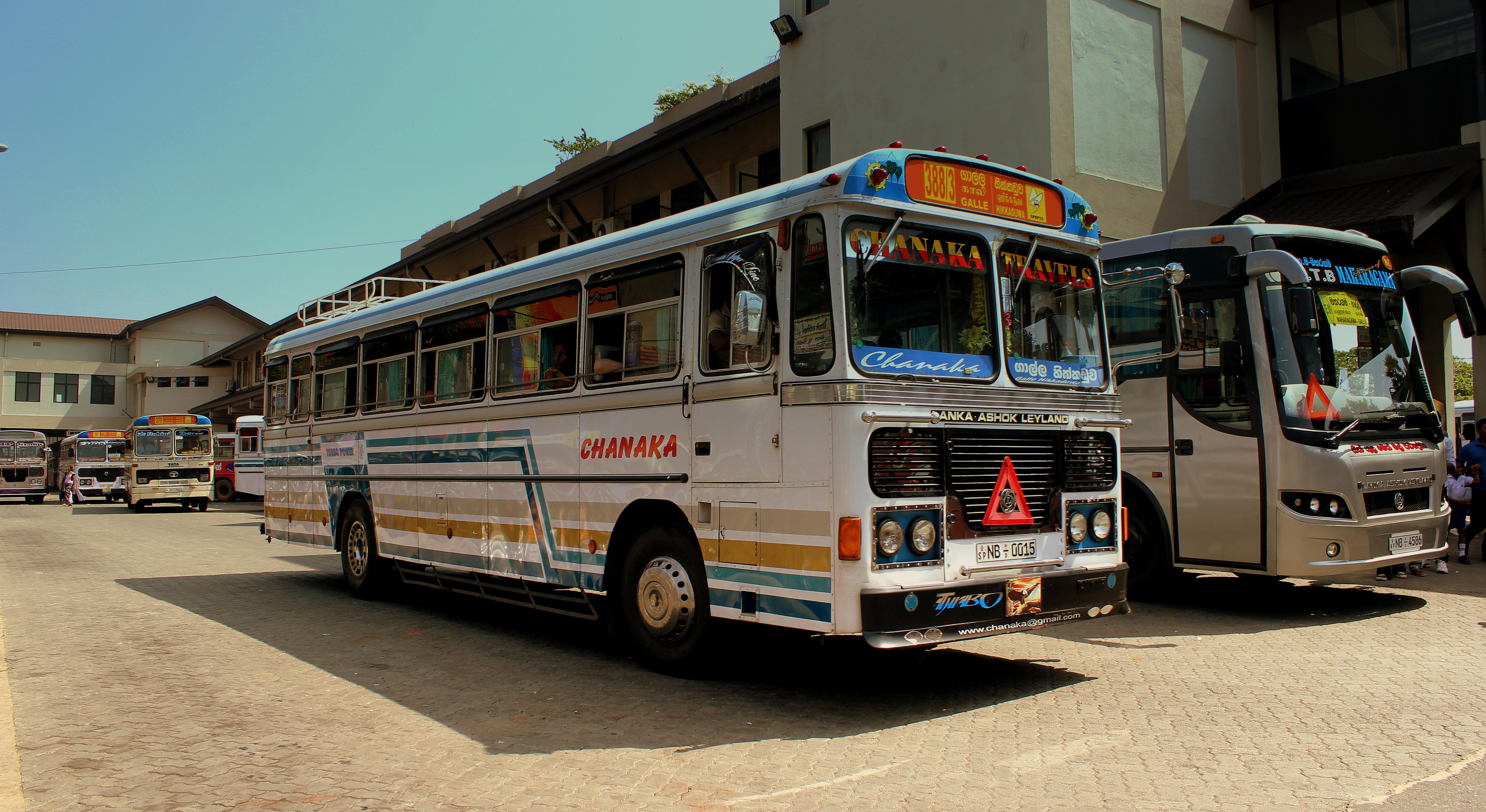 Фото: автобус на автостанции Галле
