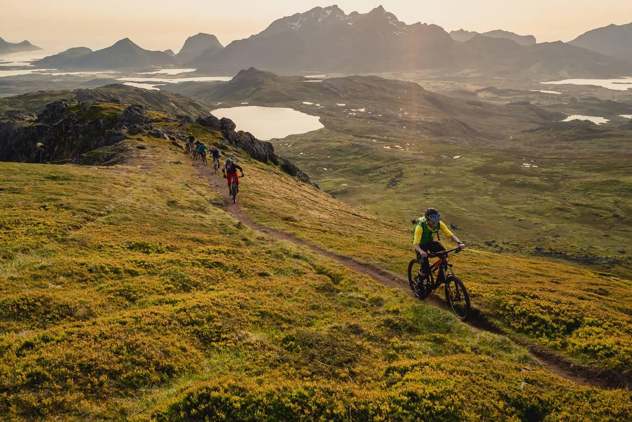 Велопрогулка по горам Лофотенских островов