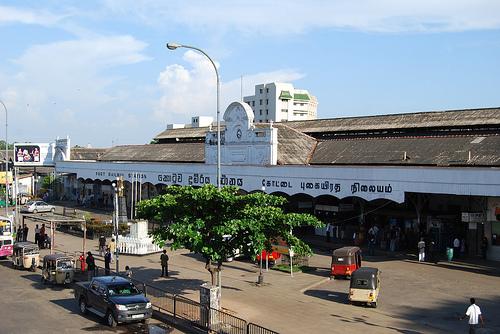 Железнодорожный вокзал Коломбо Форт