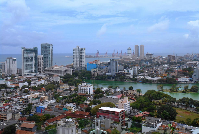 Вид на Коломбо