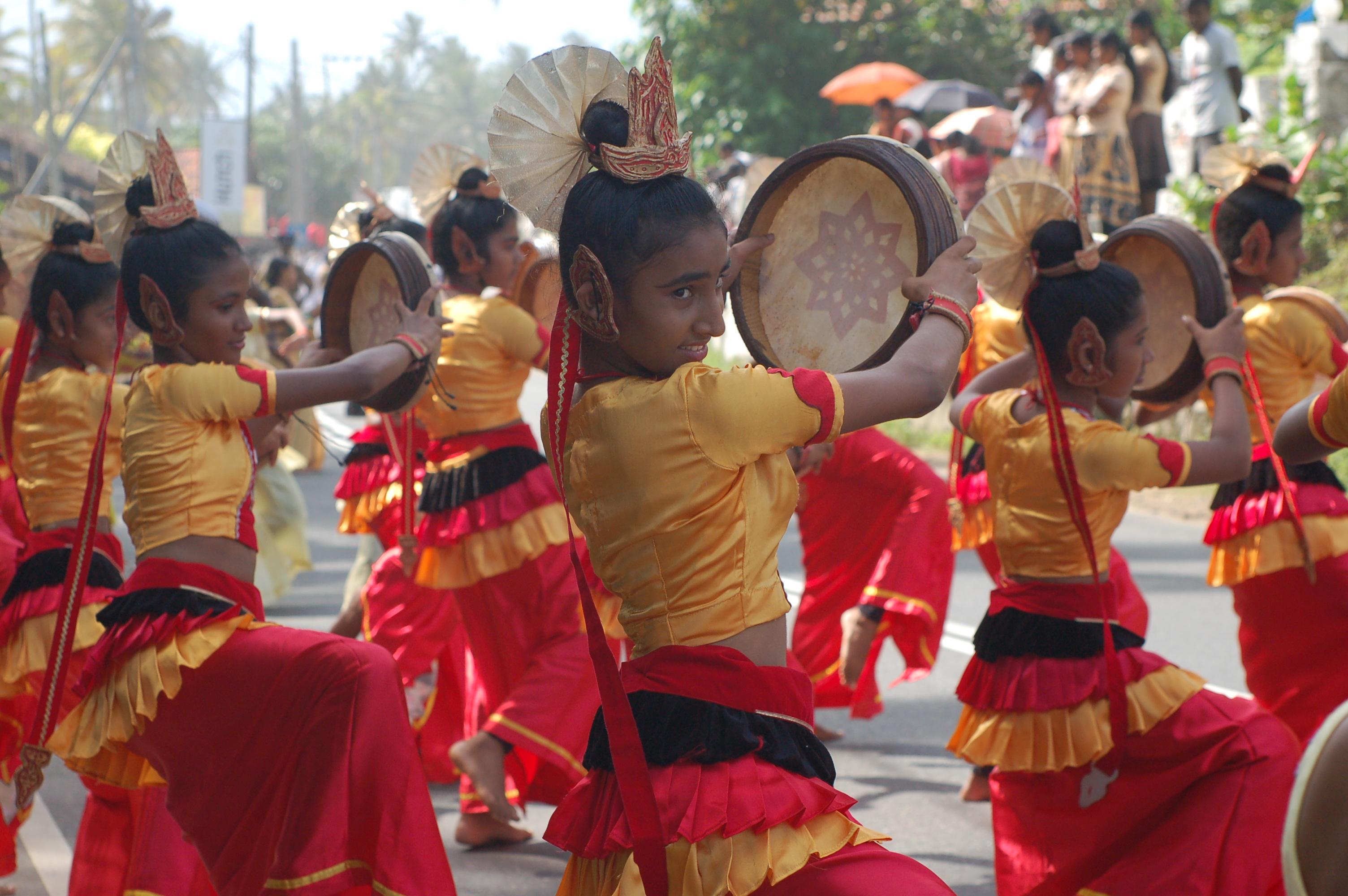 Народный танец Шри-Ланки