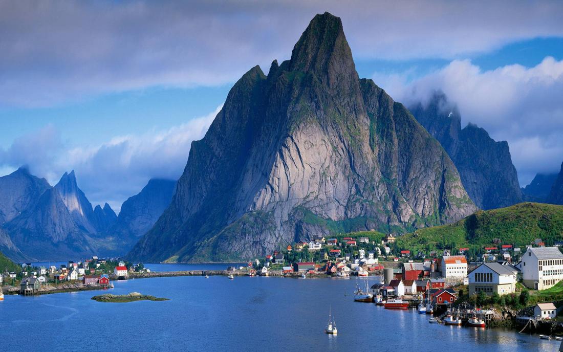 Фото: Лофотенские острова, Норвегия