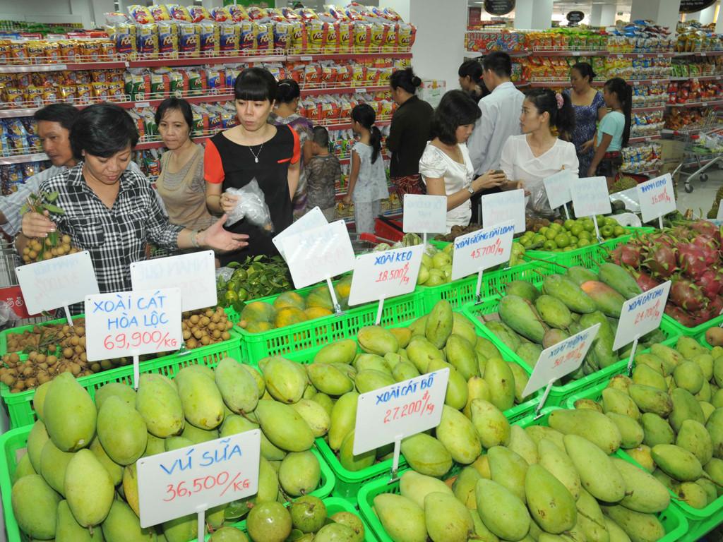 Фото: экзотический фрукт манго