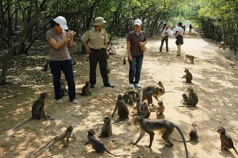 Остров обезьян неподалеку от Нячанга