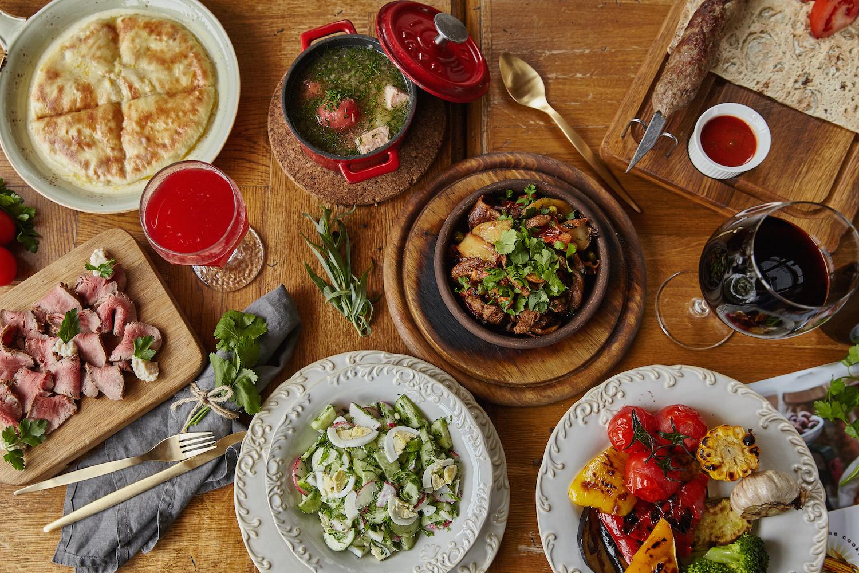 Национальные блюда грузинской кухни