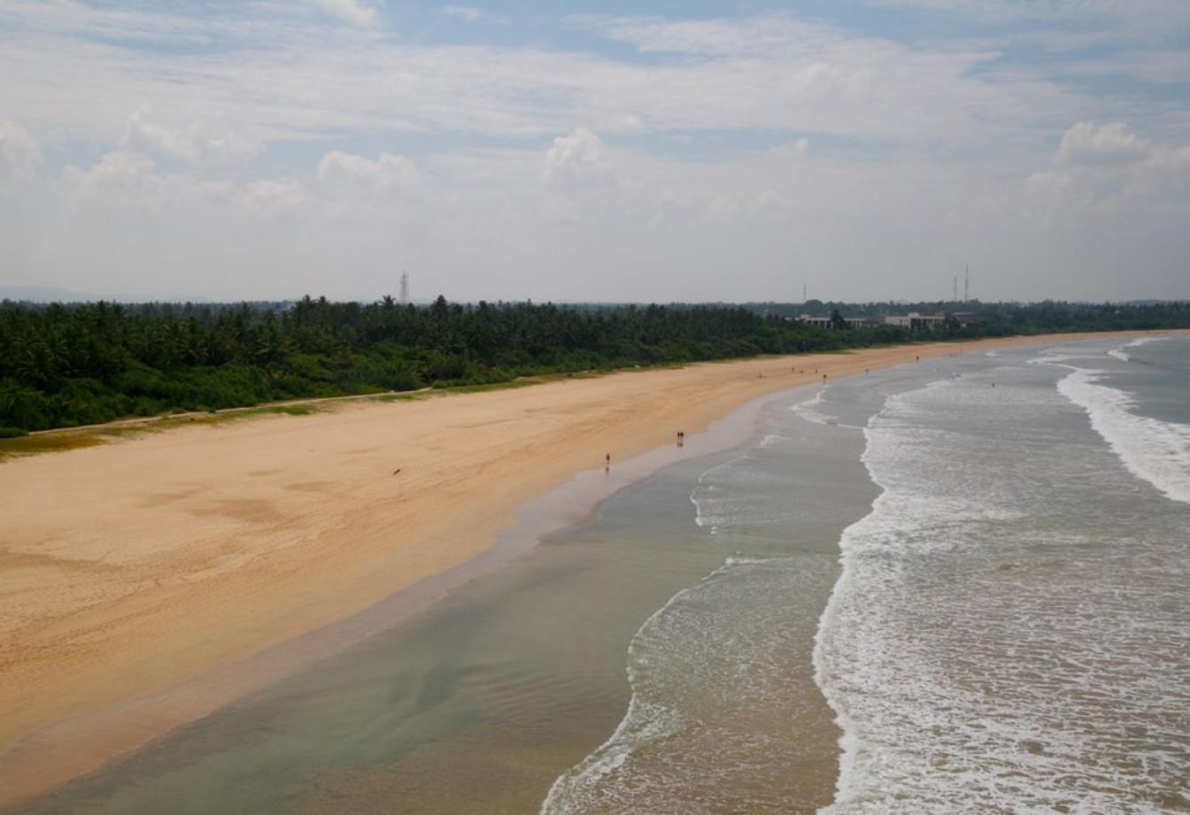 Фото: пляж Берувелы в купабельной части