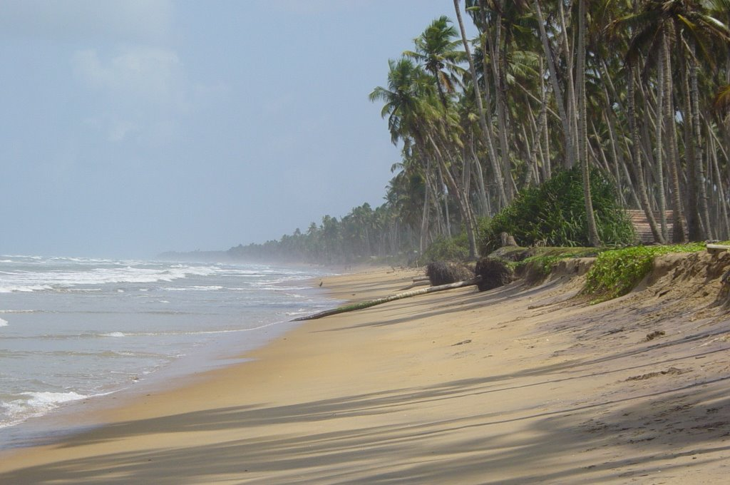 Так выглядит пляж в пасмурный день