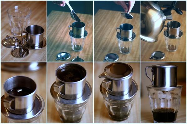 Как готовят кофе во Вьетнаме
