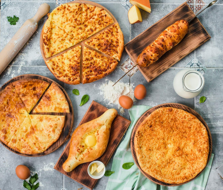 Хачапури - лепешки с сыром