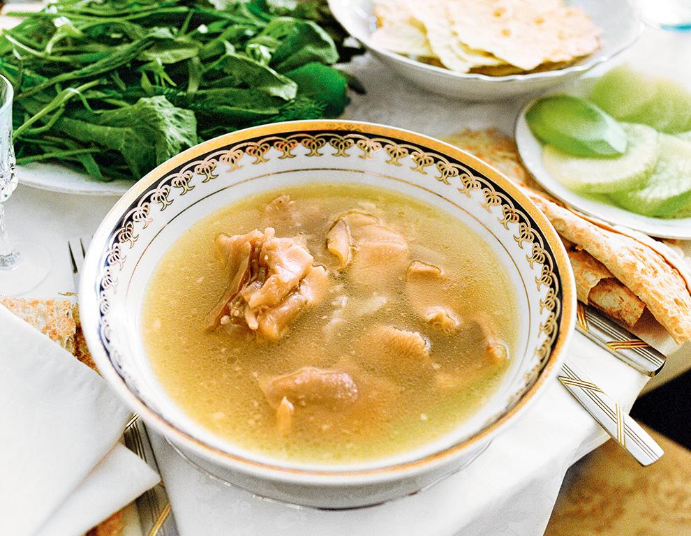 Национальная кухня Грузии - суп хаш