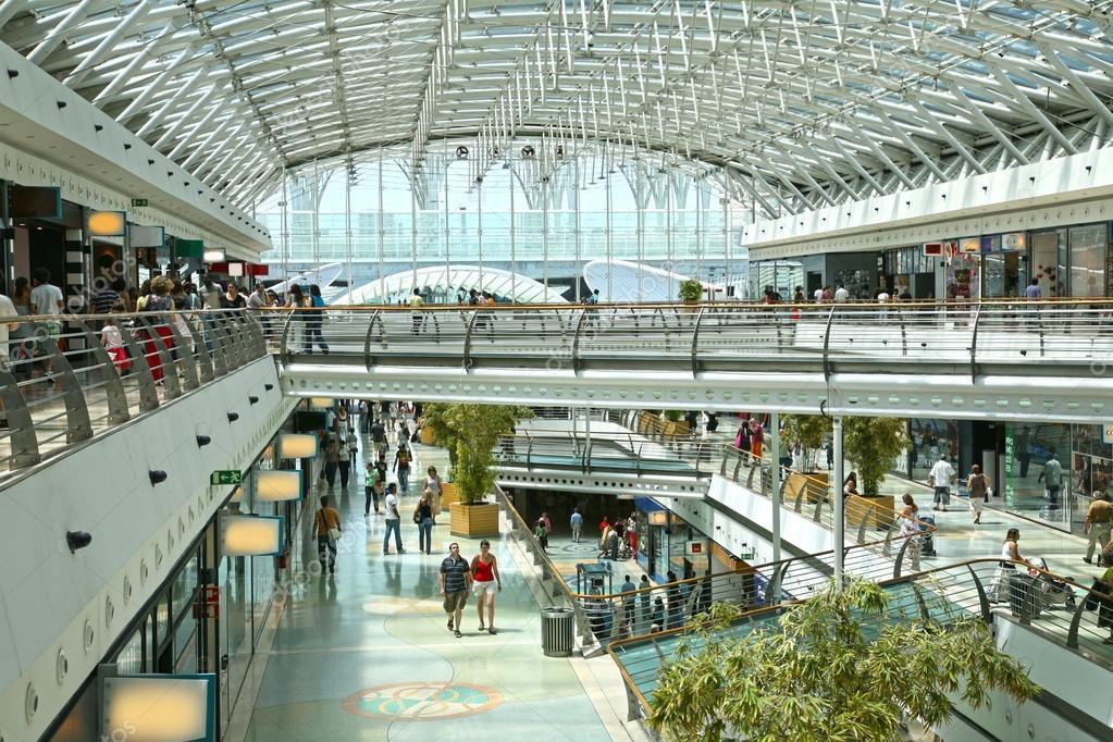 Так выглядит торговый центр внутри