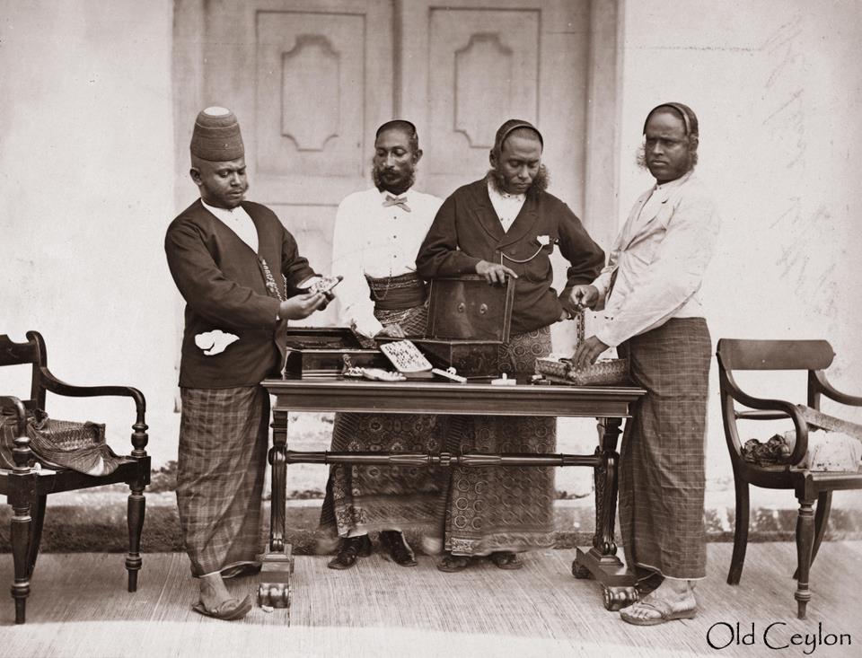 История Цейлона, иностранные колонизаторы