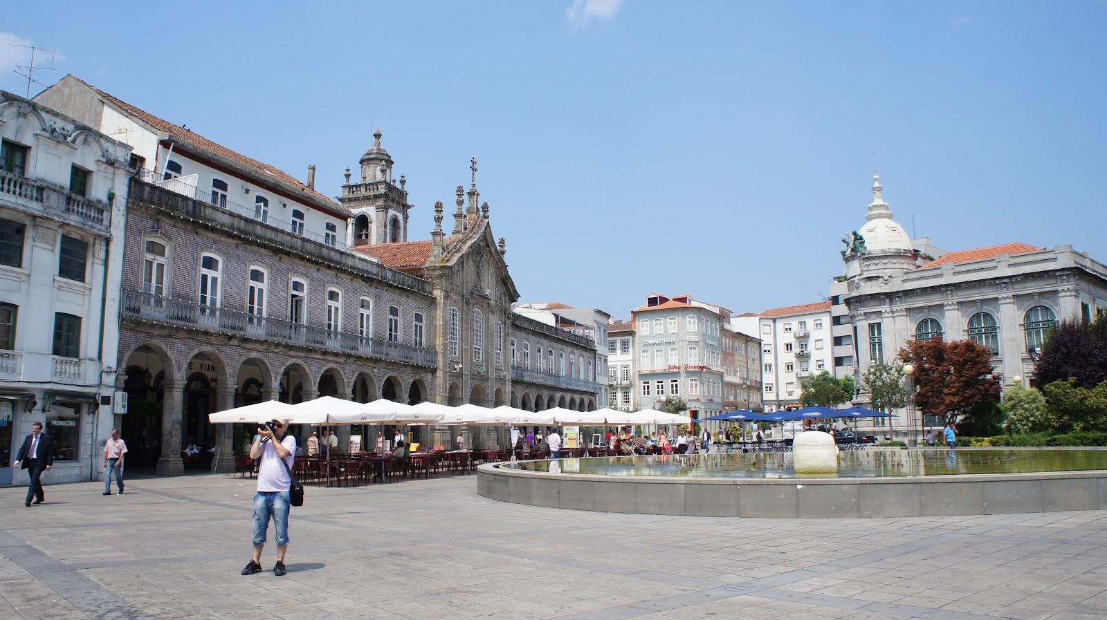 Пладь Республики в Браге, Португалия