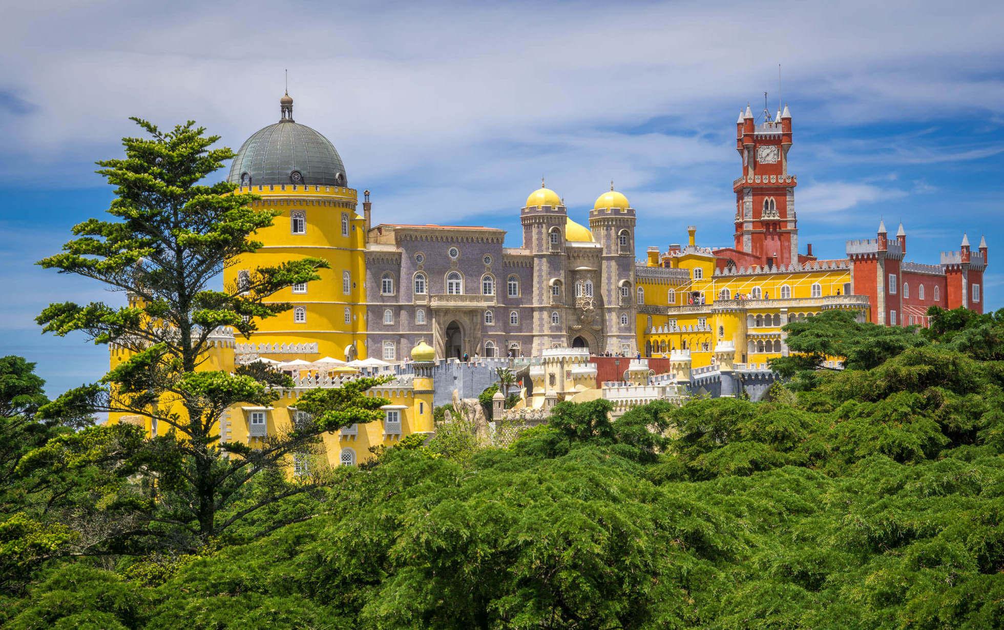 Фото: замок Пена