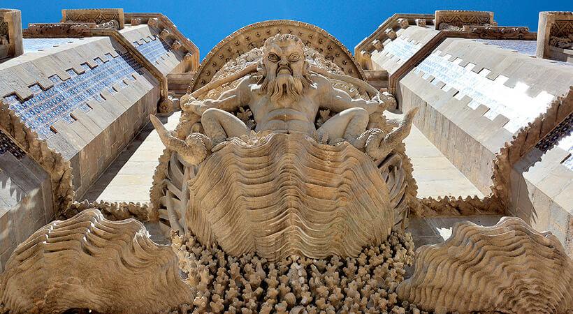 Фото: арка тритона