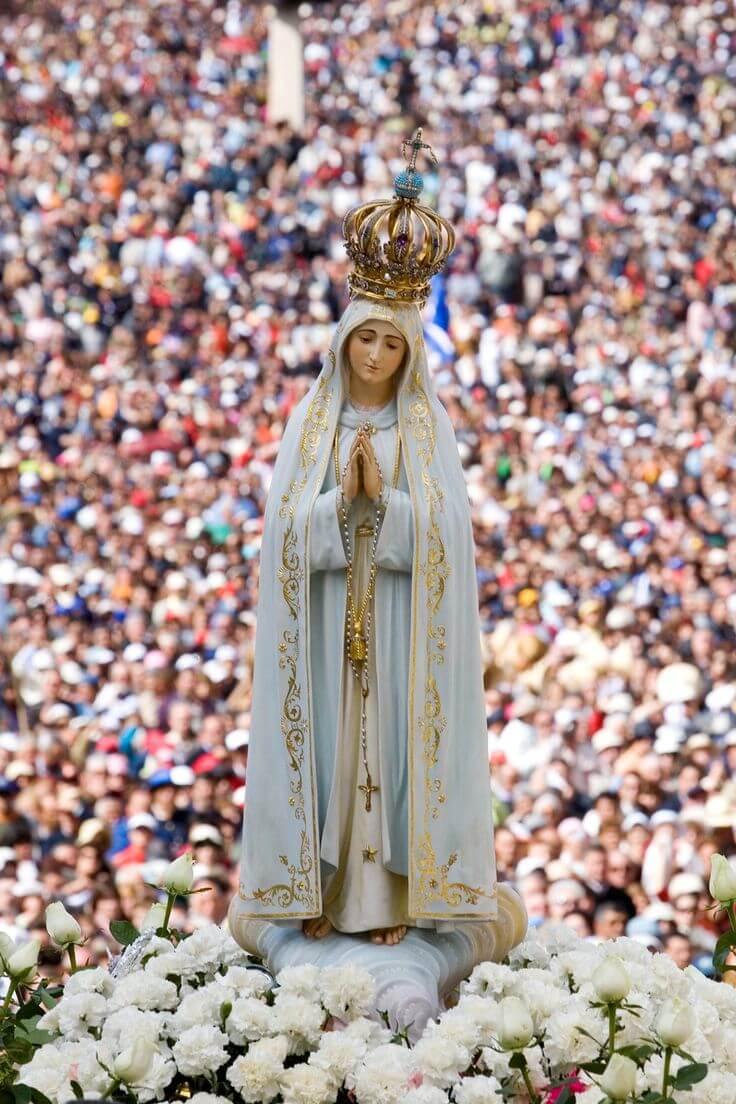 Фото: статуэтка Девы Марии