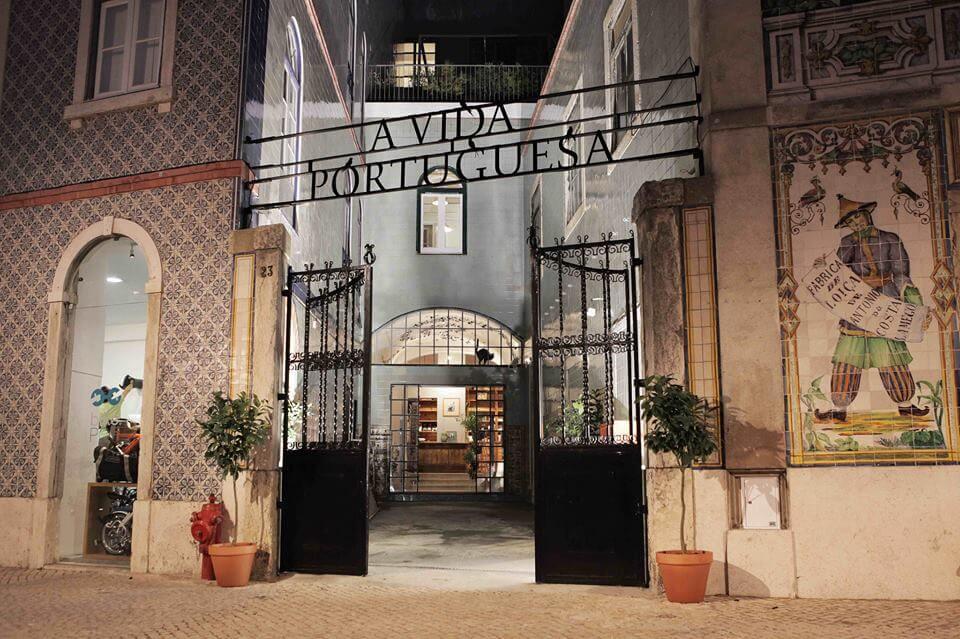 Магазин португальских продуктов A Vida Portuguesa