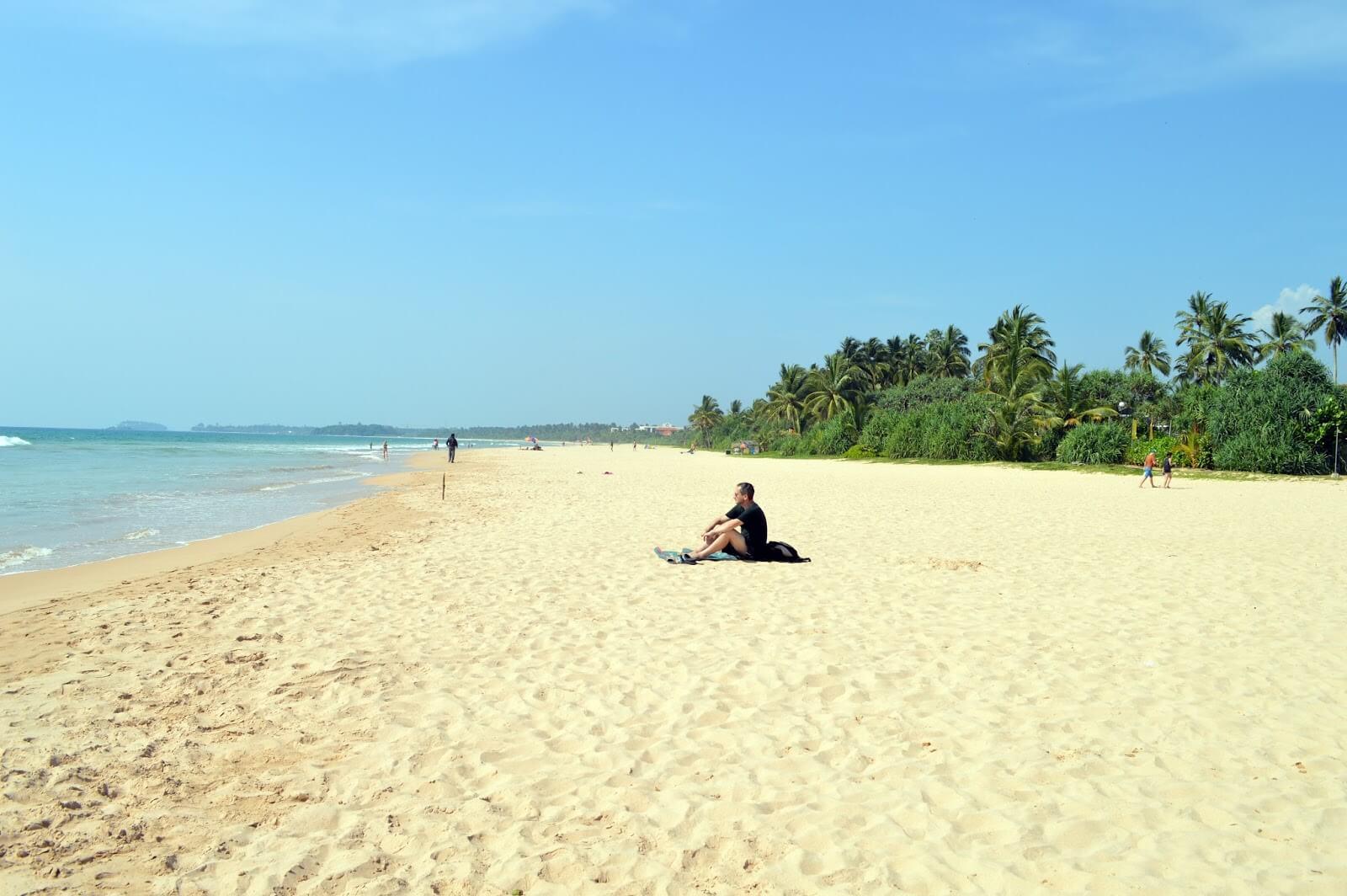 Пляжная полоса Алутгама