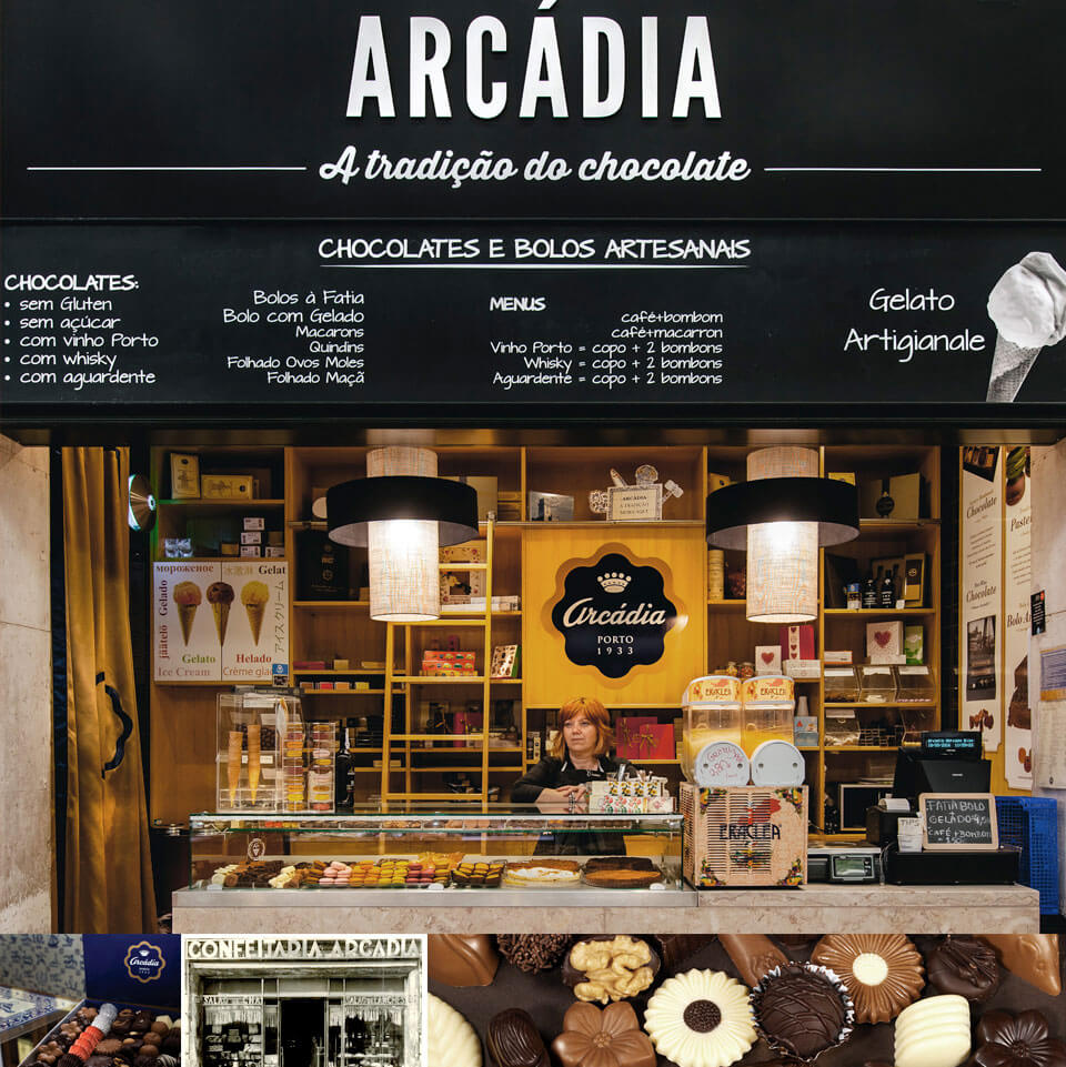 Магазин шоколада Arcádia