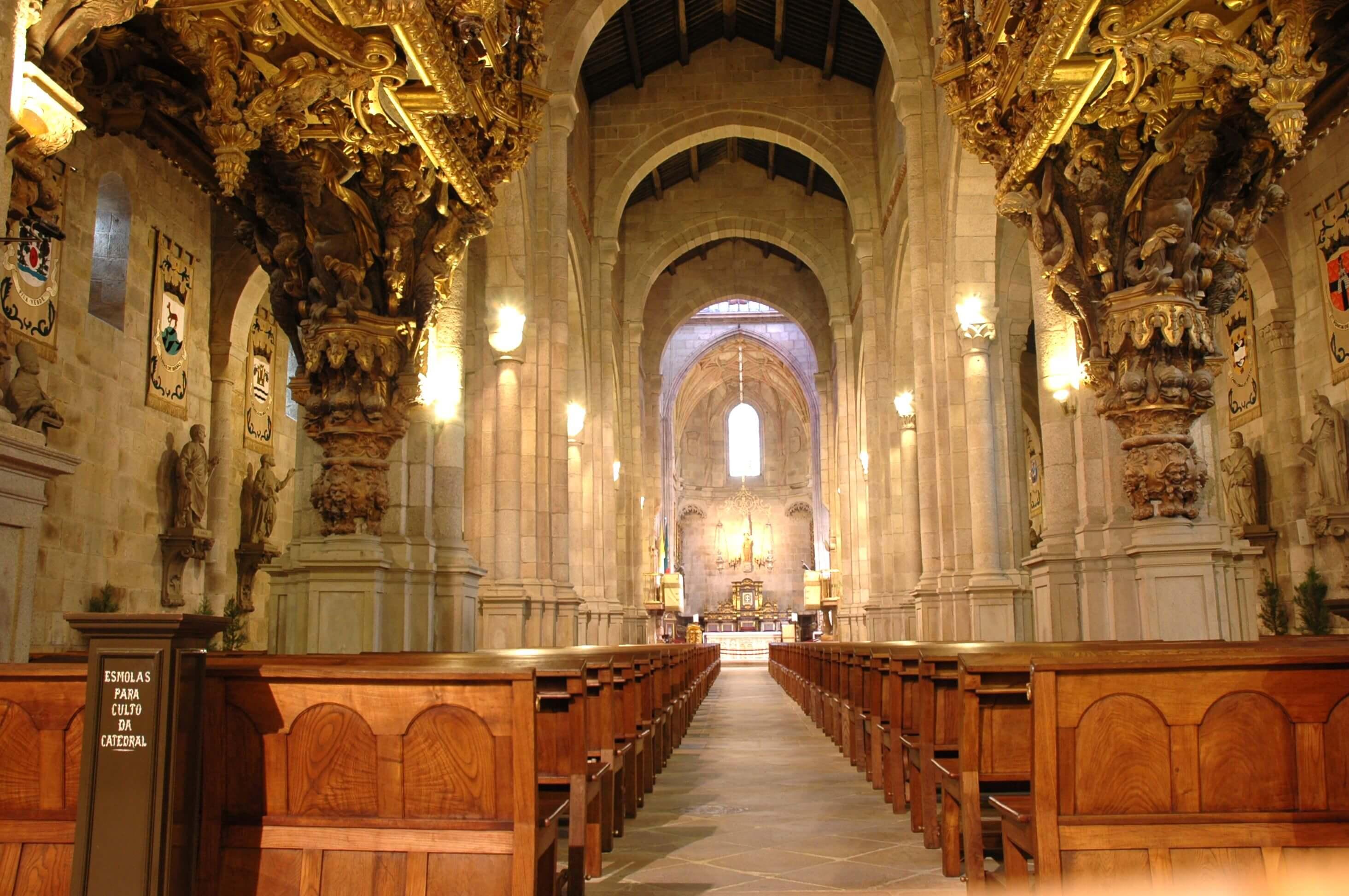 Храм Санта Мария де Брага внутри