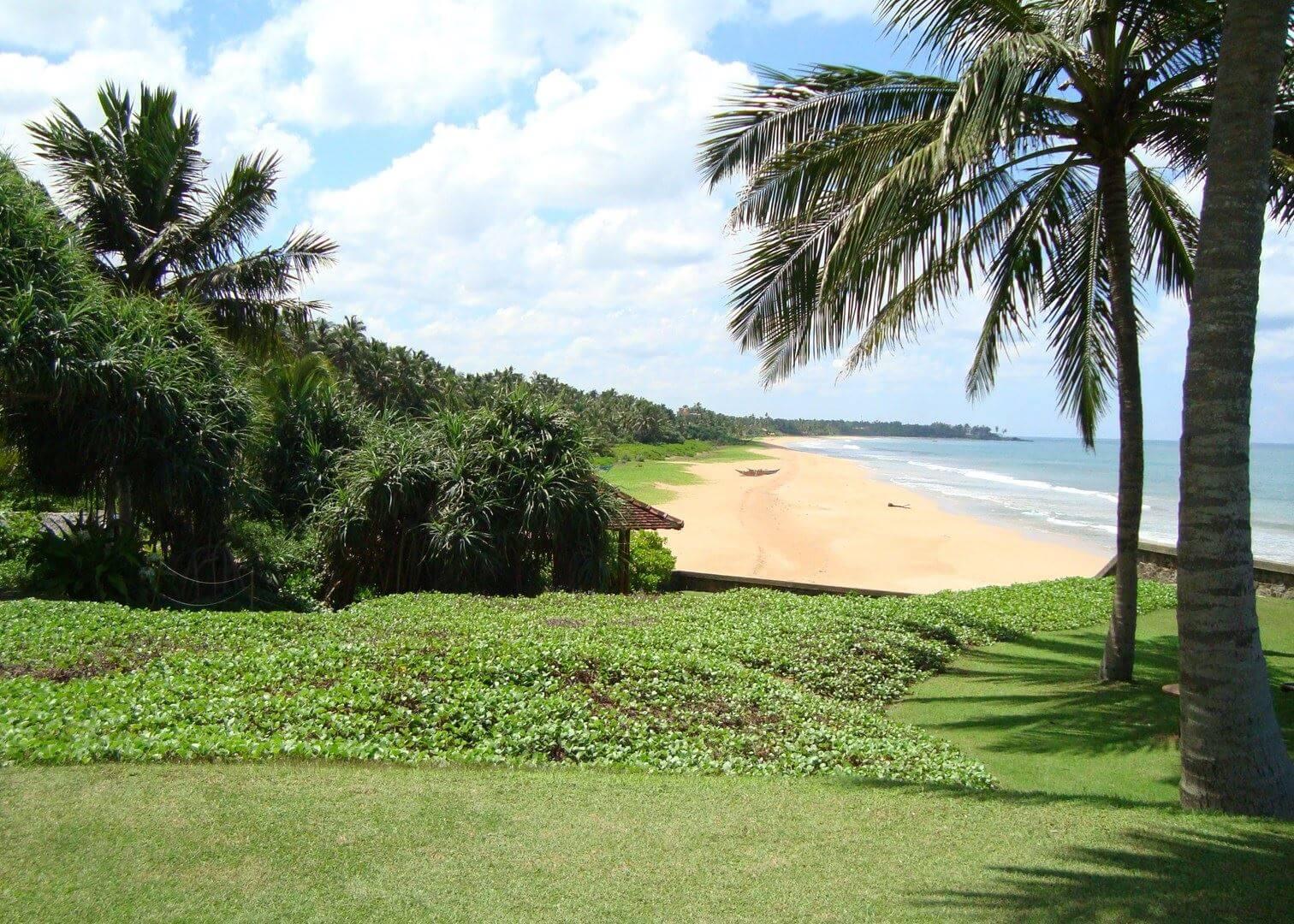 Бентота - один из лучших пляжей Шри-Ланки